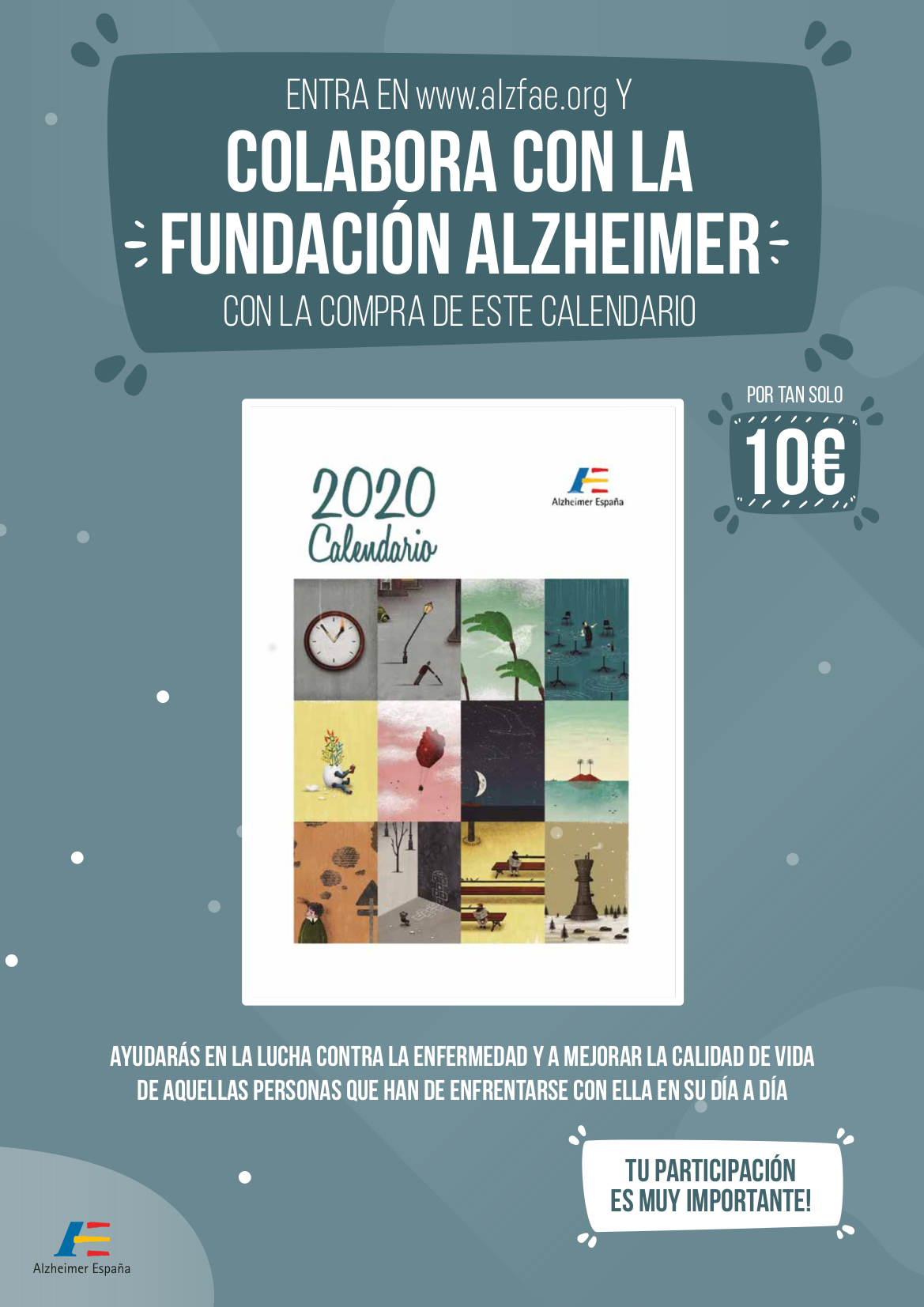 Calendario Solidario FAE 2020